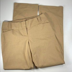 The Limited Women's Trousers Pants Tan Size 6R